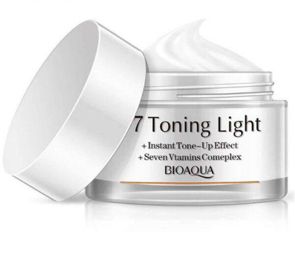 BioAqua V7 Toning Light Instant Tone Up Effect Lazy Cream 50g