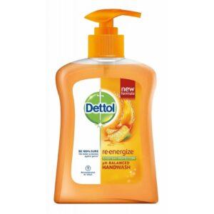 Dettol Re-Energize Handwash Pump 200 mlDettol Re-Energize Handwash Pump 200 ml